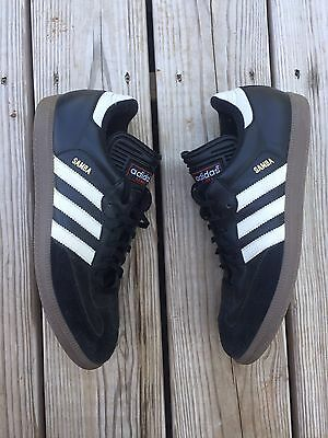 Adidas Samba Black Sneakers Shoes Men's 10