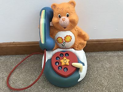 Care Bears 1985 Vintage Telephone Toy SUPER RARE!!