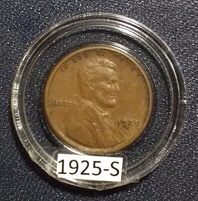 1925-S Lincoln Cent Extra Fine
