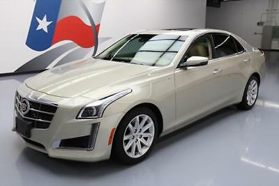 2014 Cadillac CTS Luxury Sedan 4-Door 2014 CADILLAC CTS 2.0T LUX PANO SUNROOF NAV REARCAM 22K #156805 Texas Direct