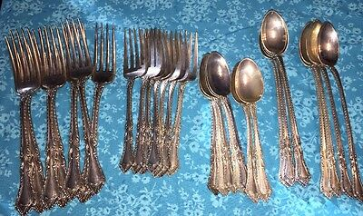 Foxhall by Watson Sterling Silver Flatware 29 Pcs Excellent Condt.