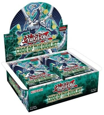 Yu-Gi-Oh! TCG Code Of The Duelist Booster 12-Box Case