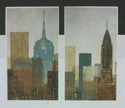 NEW R Home Decor Wall Decal City with Buildings $29.99