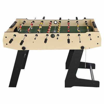 4ft Foldable Soccer Table Foosball Game Table Football Kids Toy World Cup Gift
