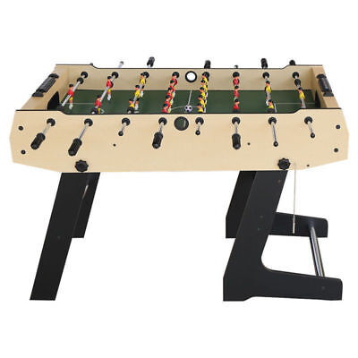 4ft Folding Soccer Table Foosball Game Table Kids Indoor Toy Christmas Gift