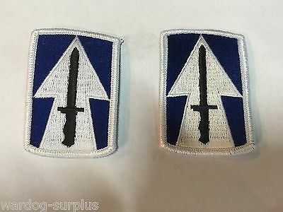 NEW Lot of 2 U.S Army 76th Infantry Brigade Class A Uniform Patches Insignia