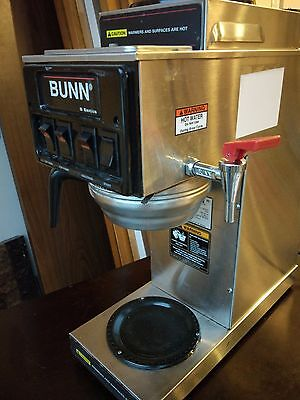 Bunn stf 15 automatic commercial coffee maker 3 burner