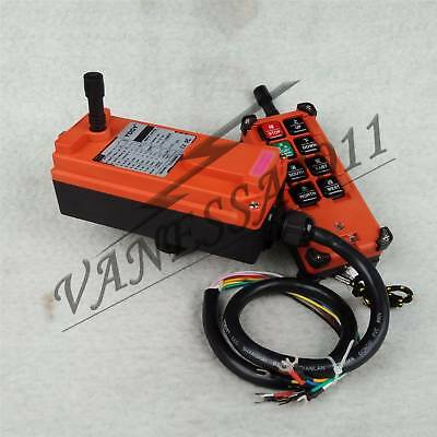 F21-E1B Single Emitter Hoist Crane Radio Wireless Remote Control DC 12V