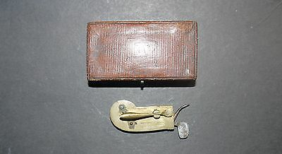 Vintage Wigand & Snowden Fleam - Spring Loaded Blood-Letting Device - 1821- 1855