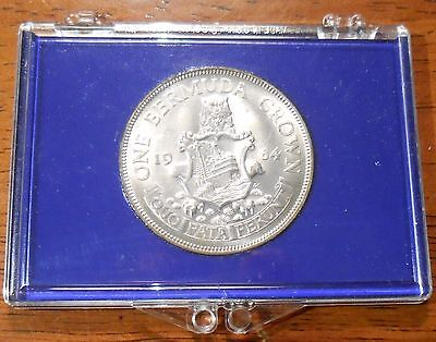 1964 Bermuda One Silver Crown