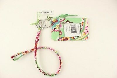 New with tags Vera Bradley Zip ID Case and Lanyard in Tutti Frutti