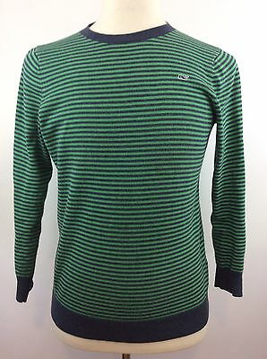 Youth Boys VINEYARD VINES Crew neck Striped Cotton Sweater Size XL (20)