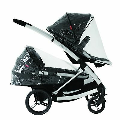 phil&teds Storm Cover for Promenade Smart Lux and Mountain Buggy Cosmopolitan...
