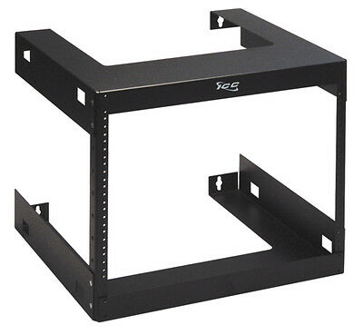 ICC Rack, Wall Mount, 18In Deep, 8 Rms ICCMSWMR08