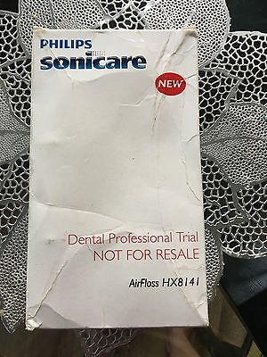 PHILIPS SONICARE AirFloss Rechargeable Oral Water Jet Flosser model HX 8141