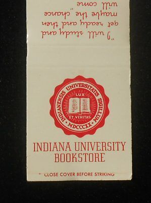 1960s Indiana University Bookstore Memorial Union Abraham Lincoln Bloomington IN