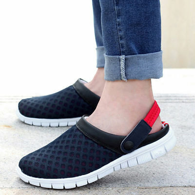 Mens Women Sandals Casual Beach Fashion Boys Walking Slipper Flip Flop Mules UK