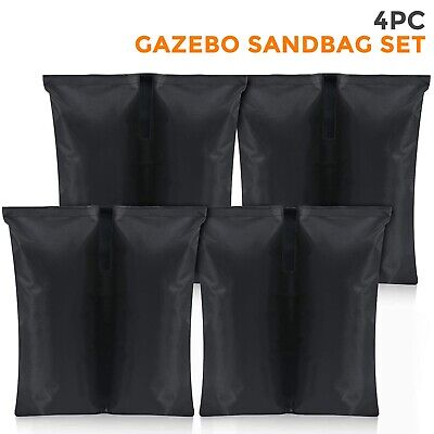 4Pcs Foot Leg Pole Sandbag Gazebo Large Weights Marquee Market Stall Sand Bags