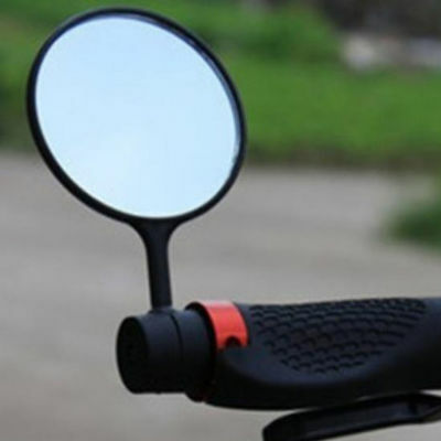 Bicycle Handlebar Glass Rear View Rearview Mirror & Stand For Mountain Road Bike
