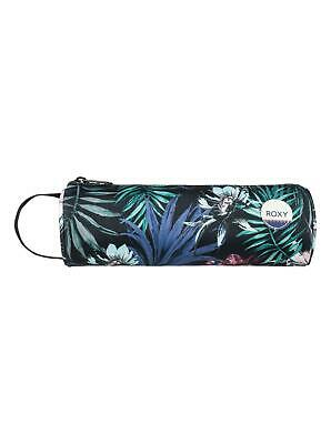 """ROXY """"OFF THE WALL"""" WOMENS PENCIL CASE. ANTHRACITE SWIM (kvj6). Over 50% OFF"""
