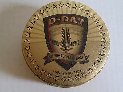 1994 Zippo Lighter D-Day Normandy 50 Years Anniversary Limited Edition in Tin