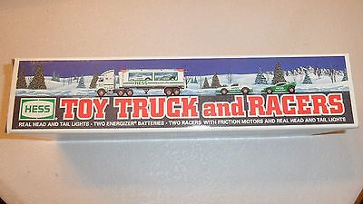 Hess 1997 Toy Truck and Racers New