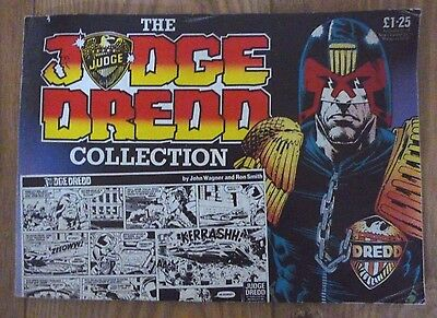 The Judge Dredd Collection - Card Cover Comic 1985
