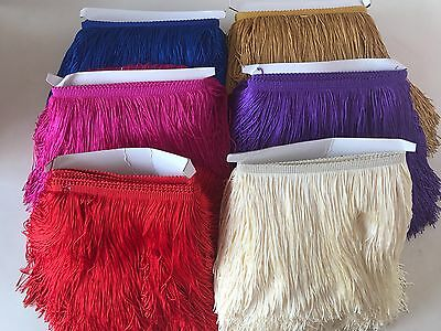 Tassel Fringe / Fringing Tassel Double Thread Luxury 20cm x 1 yard