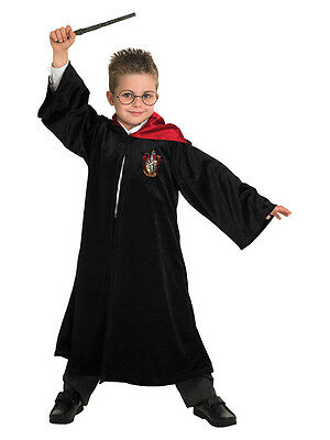 Child Deluxe Harry Potter Quidditch Robe Fancy Dress Costume Kids Boys girls BN