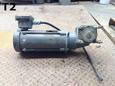 Nord Type 1S50VZN56C Gearmotor 1HP 1725RPM 26:1 3PH