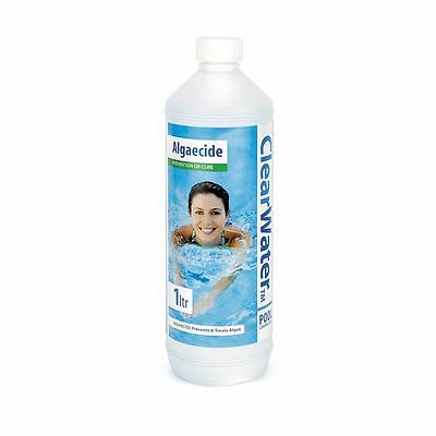 Clearwater Liquid Algaecide & Rime 1 Litre Swimming Pool Spa Water System