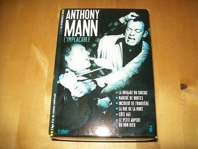 Anthony Mann L'implacable - Coffret 7Dvd - Les Introuvables - Tres Rare -