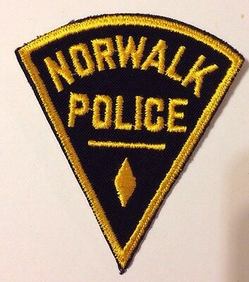 Norwalk Connecticut Police Patch