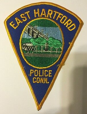East Hartford Connecticut Police Patch (Train Theme)