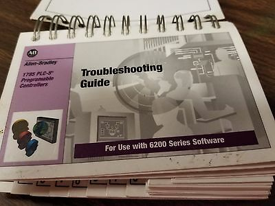 Allen Bradley PLC-5 Programable Controllers Troubleshooting Guide 6200 Series