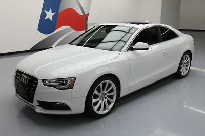 2013 Audi A5  2013 AUDI A5 2.0T QUATTRO PREMIUM PLUS AWD SUNROOF NAV #023902 Texas Direct Auto