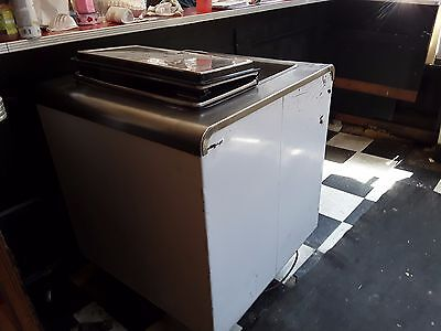 ice cream dipping cabinet used in good condition
