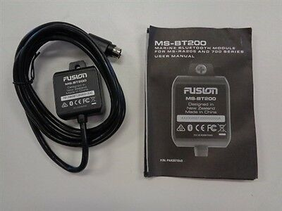 Fusion Ms-Bt200 Bluetooth Module For Ms-Ra205 & 700 Series Marine Boat