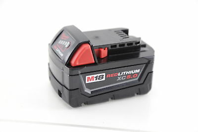 Milwaukee M18 Red Lithium XC 5.0 AH Extended Capacity Battery 48-11-1852