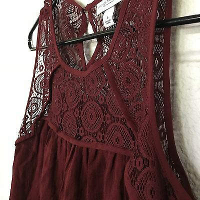 Liz Lange Maternity Summer Sundress, Size S - New Without Tags Lace, Red