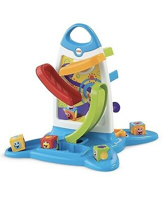 Fisher Price Roller Blocks Play Wall Toy
