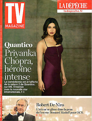 PRIYANKA CHOPRA => French TV Magazine 2017 (FREE SHIPPING!!!)