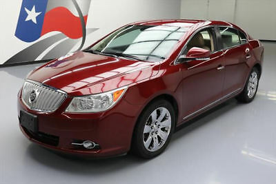 2010 Buick Lacrosse CXL Sedan 4-Door 2010 BUICK LACROSSE CXL HTD LEATHER CRUISE CTRL 70K MI #233101 Texas Direct Auto