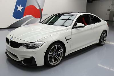2016 BMW M4  2016 BMW M4 EXECUTIVE DRIVER ASSIST PKG RED LEATHER 20K #338541 Texas Direct