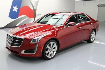 2014 Cadillac CTS Performance Sedan 4-Door 2014 CADILLAC CTS 4 2.0T PERFORMANCE AWD SEDAN NAV 15K #161397 Texas Direct Auto