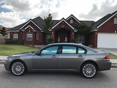 2008 BMW 7-Series ARMORED BULLETPROOF B6 2008 BMW 750LI ARMORED BULLETPROOF B6