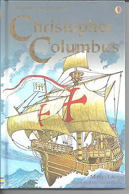 Usborne Famous Lives: Christopher Columbus  HC by Minna Lacey