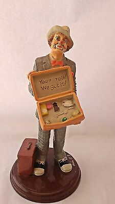 Accorn Acorn ? Sales Co. You Name It We Got It Berco Dudi Clown in Suit Figurine