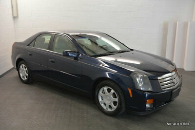 2003 Cadillac CTS 4dr Sedan Cadillac CTS Leather CD Player 47489 Miles