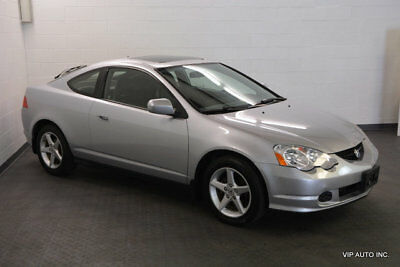 """2002 Acura RSX Base Coupe 2-Door Acura RSX 5 Speed Manual Leather Moonroof 16"""" Wheels"""